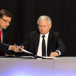 Koperta Kaczyńskiego z 50 tys. zł za podpis uchwały dotyczącej Srebrnej. O tym rozmawiał z Ziobrą?