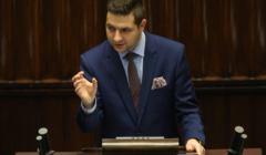 Wiceminister Sprawiedliwości Patryk Jaki. Fot. Sławomir Kamiński/ Agencja Gazeta