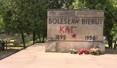 Grób Bolesława Bieruta Fot. screen Polsat News