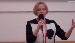 Maria Szonert-Binienda w Klubie Ronina, październik 2014