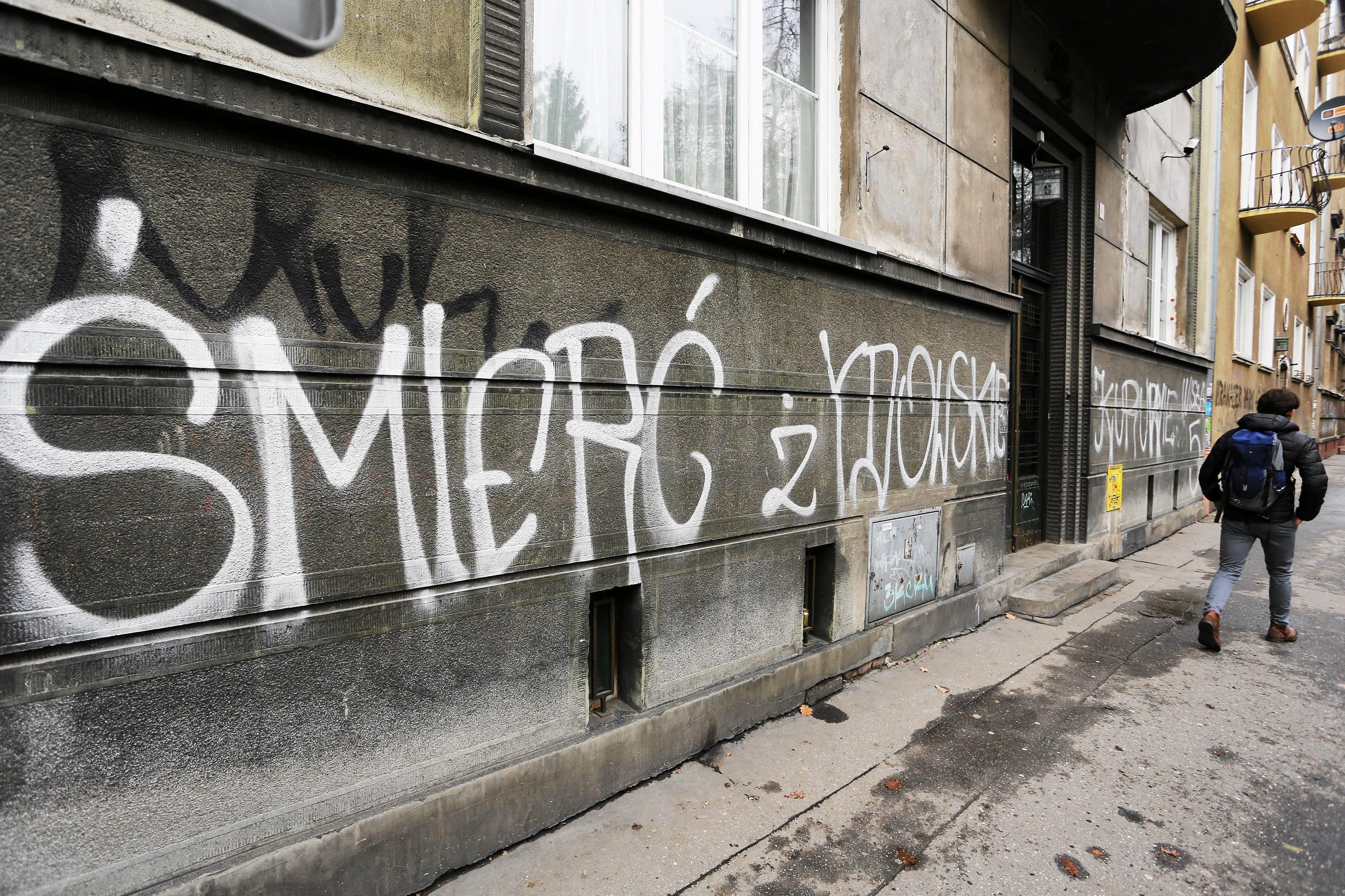 ksenofobia napisy Warszawa