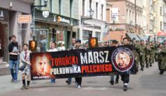 Toruński Marsz Pułkownika Pileckiego w 2016 roku. Fot. FB