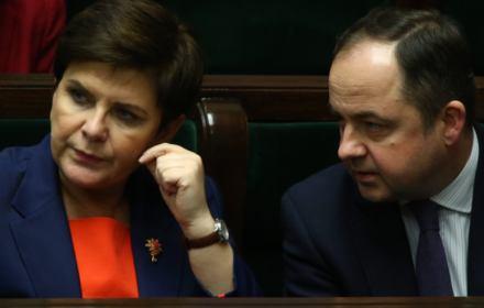 """Nieśmiertelne kłamstwo PiS. """"Kryzys wokół Trybunału wywołała poprzednia większość parlamentarna"""""""