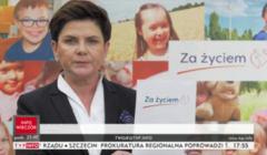 Beata Szydło, Za życiem