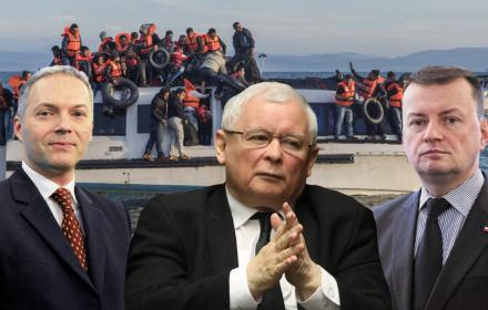 Przekaz dnia PiS: uchodźcy to hołota, czołgi na ulicach europejskich miast, demograficzny dżihad, katastrofa społeczna