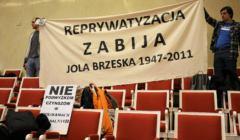 Warszawskie Stowarzyszenie Lokatorow protestuje .
