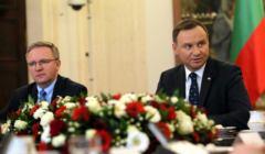 Spotkanie z prezydium Zgromadzenia Parlamentarnego Polski, Litwy i Ukrainy w Palacu Prezydenckim