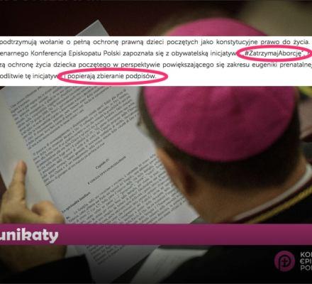 Chcą zaostrzyć ustawę antyaborcyjną. To się może udać, biskupi pomogą. Wraca