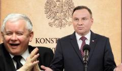 Konstytucja RP. Andrzej Duda vs. Jarosław Kaczyński. Fot. Agencja Gazeta