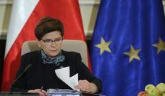 z20092523Q,Premier-Beata-Szydlo-podczas-posiedzenia-Rady-Mini