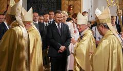Andrzej Duda wśród biskupów