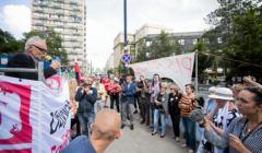 Protest Obywateli RP przeciw ustawie o KRS i Sadach