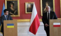 Spotkanie ministrow spraw zagranicznych Polski i Ukrainy