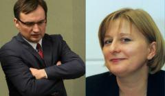 Zbigniew Ziobro (2017 rok) i Małgorzata Wilkosz-Śliwa (2001 rok). Fot. Agencja Gazeta
