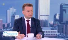 Mariusz Błaszczak, Kwadrans polityczny TVP1, 6 lipca 2017