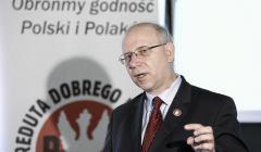 Konferencja prasowa dotyczaca wykrywania znieslawien Polski i Polakow