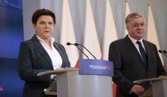 Konferencja prasowa premier Beaty Szydlo