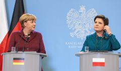 Wizyta kanclerz Angeli Merkel w KPRM