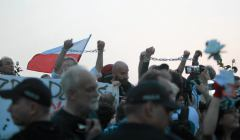 Krakowskie Przedmiescie . 88 miesiecznica katastrofy smolenskiej .