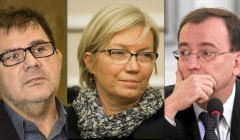 Mariusz Mudszyński, Julia Przyłębska, Mariusz Kamiński. Fot. Agencja Gazeta