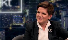 premier Beata Szydło w TV Republika