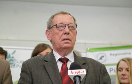 konferencja prasowa w Ministerstwie Środowiska