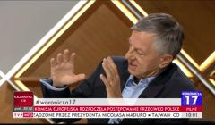 prof. Andrzej Zybertowicz, program Woronicza 17, TVP Info