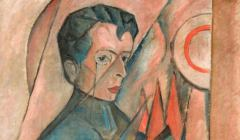 jasienski bruno portret wykonany przez Tytusa Czyżewskiego w 1920 r., fragment