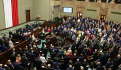 głosowanie uchwały upamięyniającej 75 rocznice NSZ