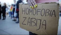 Pikieta solidarnosciowa z rodzinami ofiar w Orlando, Katowice