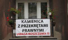 Protest-pod-zreprywatyzowana-kamienica-przy-ul--Sk