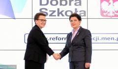 z20951536V,Premier-Beata-Szydlo-i-minister-edukacji-Anna-Zale
