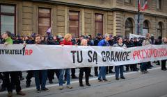 Blokada Marszu ONR 29 kwietnia 2017 r.