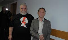 Arkadiusz Szczurek i Zbigniew Bajkowski (z lewej). Fot. Mariusz Jałoszewski