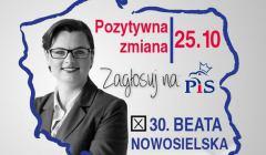 Beata Nowosielska. Fot. materiał wyborczy PiS
