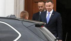 Spotkanie Kaczynski - Duda ws. reformy sadownictwa , Belweder