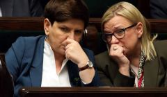 Beata Kempa- szefowa kancelarii premiera i premier Beata Szydło