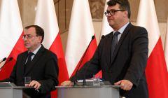 Minister koordynator Mariusz Kaminski i wiceminister Maciej Wąsik