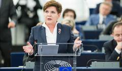 premier RP Beata Szydło w Parlamencie Europejskim, 19 stycznia 2016