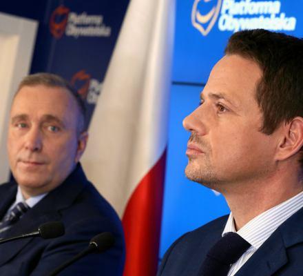 Wspólny kandydat opozycji na prezydenta Warszawy? Może w przyszłości. Na razie jest wojna