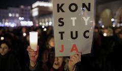 Demonstracja 3xW w Krakowie