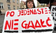 Protest przeciwko gwałtom