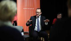 Rzecznik Praw Obywatelskich Adam Bodnar na spotkaniu w Czestochowie