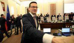 Pierwsze posiedzenie rzadu Mateusza Morawieckiego