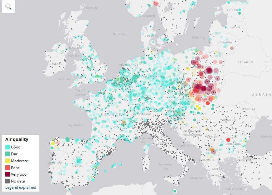 Źródło: airindex.eea.europa.eu