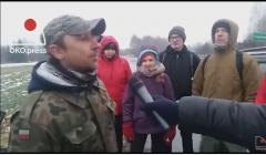 Aktywiści monitorują myśliwych pod Lublinem