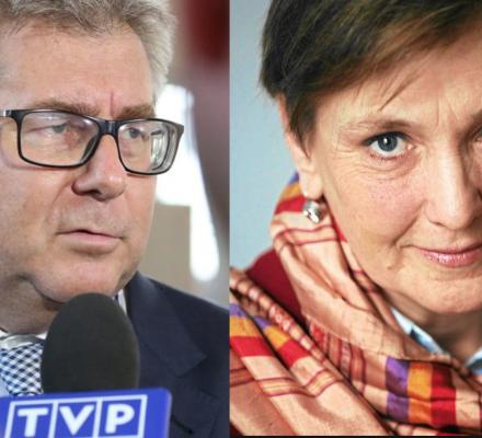 Róża Thun kontra Ryszard Czarnecki. Polka-Europejka kontra antyeuropejski kameleon
