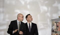 Wizyta prezydenta Dudy w Muzeum Historii Zydow Polskich