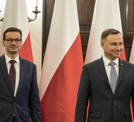 Prezydent i premier pomaszerują razem z ONR.