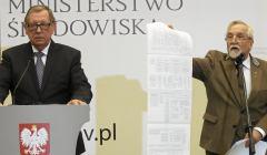 Konferencja ministra srodowiska Jana Szyszki